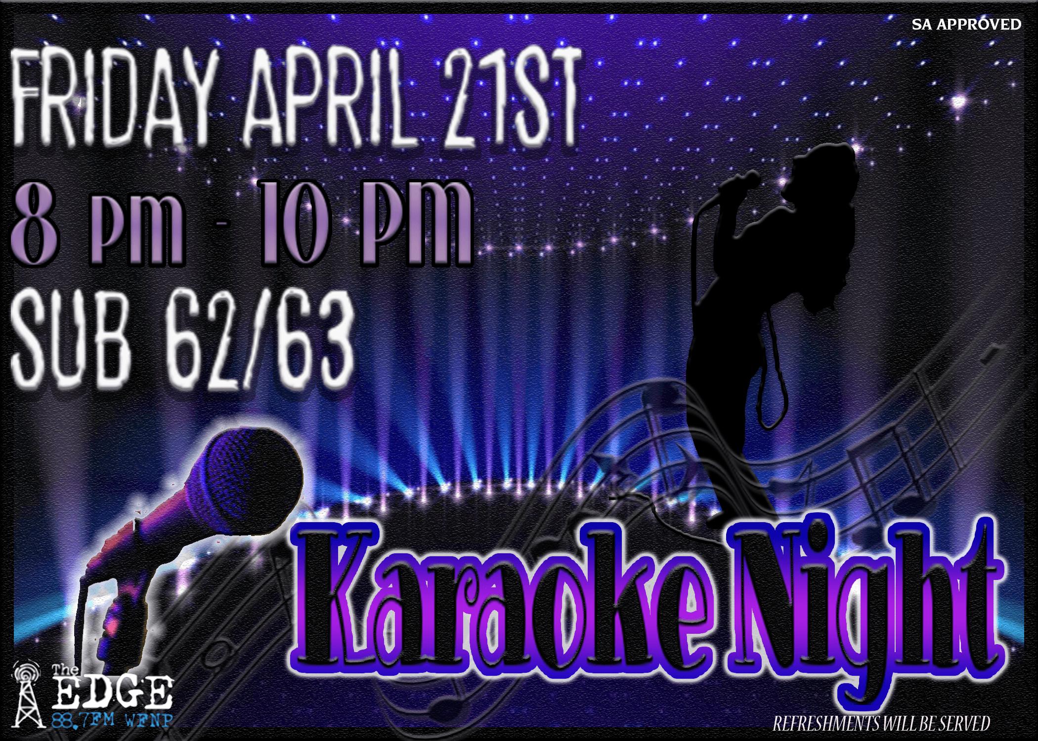 Karaoke Night Final Web