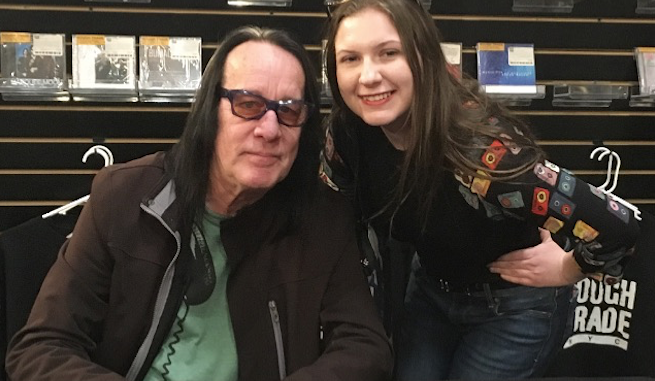 Sacha and Todd Rundgren